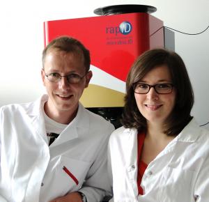 Dr. Susann Meisel und Dr. Stephan Stöckel