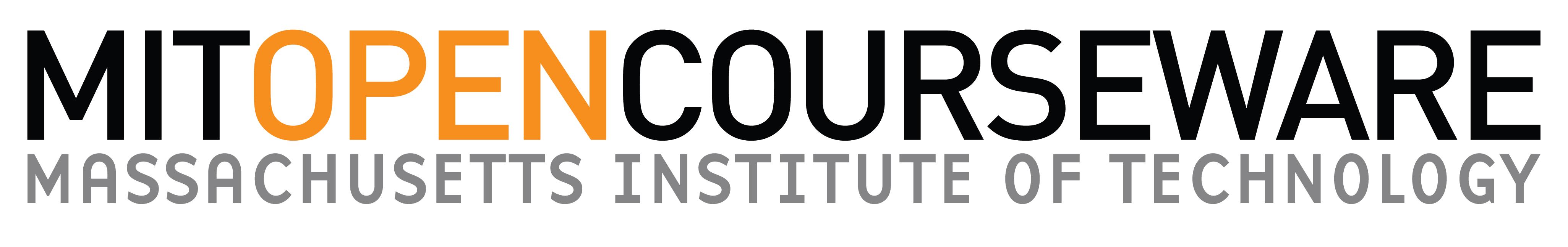 Logos Fortbildungsangebote — MIT OpenCourseWare