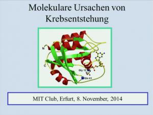 Molekulare Ursachen der Krebsentstehung