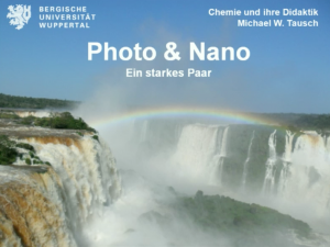Photo & Nano - ein starkes Paar | Experimentelle und konzeptionelle Grundlagen zur Wechselwirkung von Licht und Materie