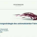 Einführungsstrategie des Automatisierten Fahrens