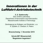 Innovationen in der Luftfahrt-Antriebstechnik