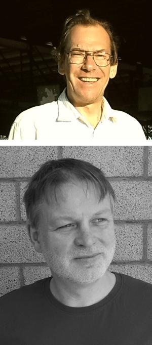 Prof. Dr. Olaf Elsholz (oben im Bild) Ulrich Scheffler (unten im Bild)