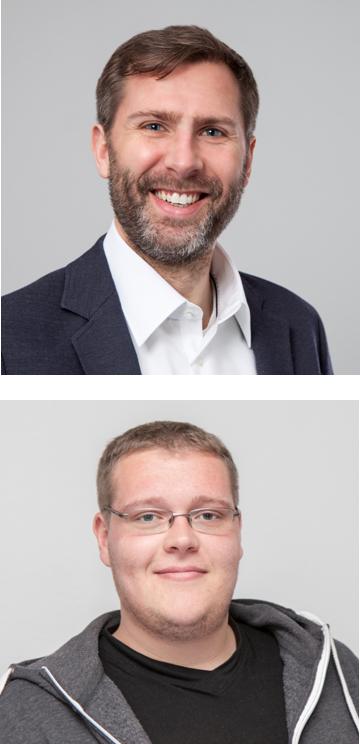 Thorsten Leimbach (oben im Bild) Richard Erdmann (unten im Bild)