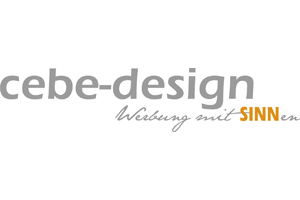Logos Medienpartner - cebe-Design