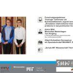 Forschungsergebnisse Thüringer Teilnehmer am Bundeswettbewerb Jugend forscht 2016: 'Simulation relativistischer Zweikörperprobleme in baryzentrischen Koordinaten'