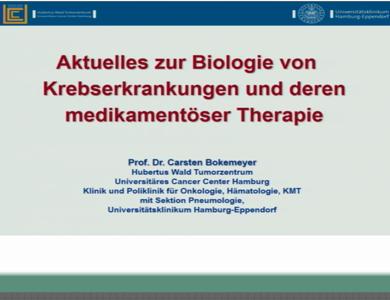 Aktuelles zur Biology von Krebserkrankungen und deren medikamentöser Therapie