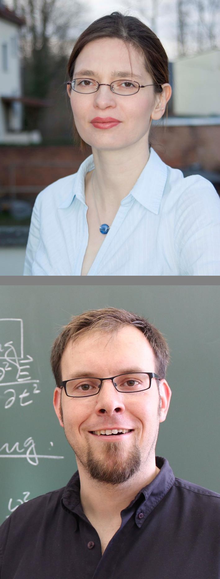 Dr. Christina Walther (Bild oben) und Thomas Kaiser (Bild unten)