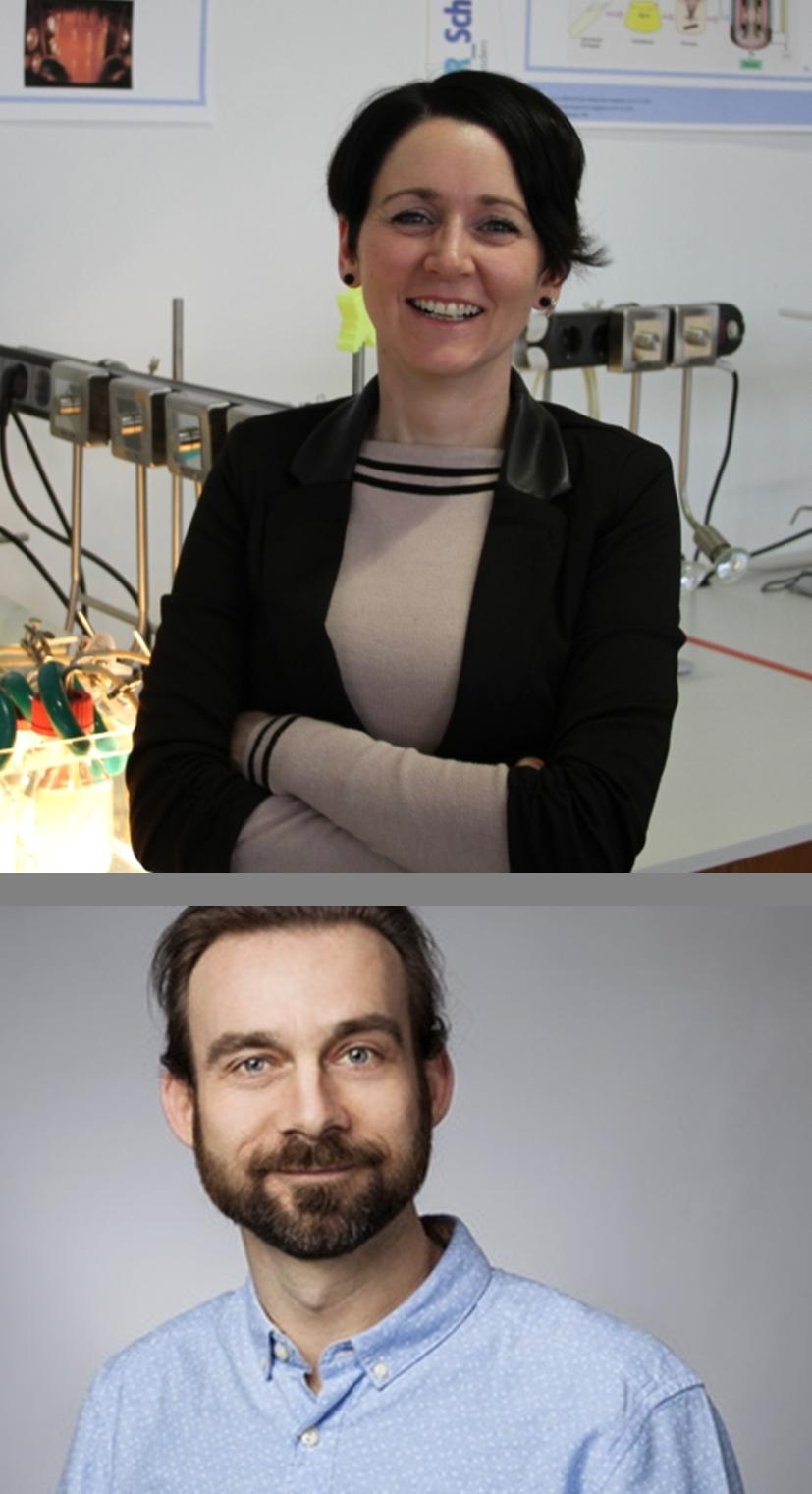 Dr. Janina Hahn (Bild oben) und Torsten Goerke (Bild unten)