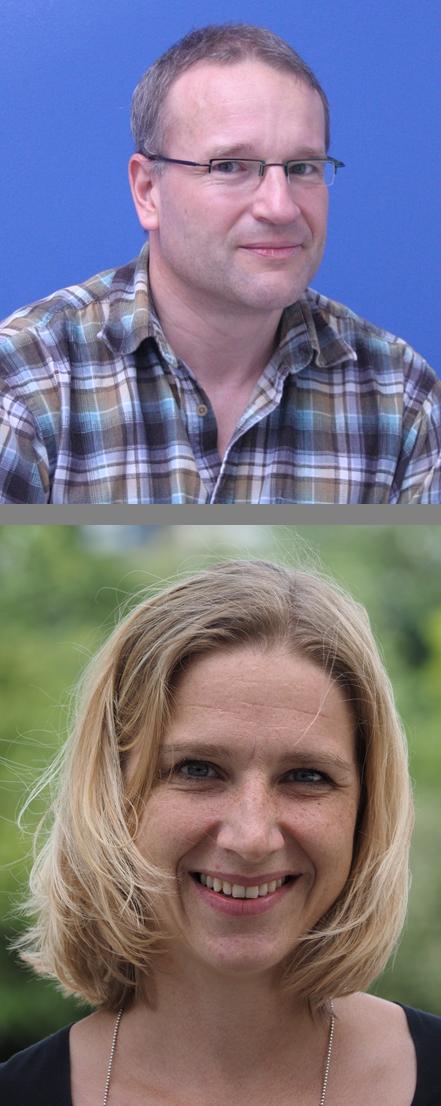 Otmar Winkler (Bild oben) und Saskia Schnasse (Bild unten)