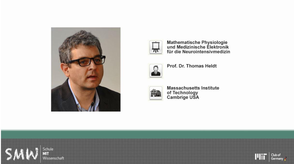 Mathematische Physiologie und Medizinische Elektronik für die Neurointensivmedizin