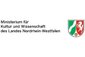 Logos Sponsoren 2018 - Ministerium für Kultur und Wissenschaft des Landes Nordrhein-Westfalen