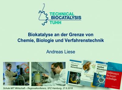 Biokatalyse an der Grenze von Chemie, Biologie und Verfahrenstechnik