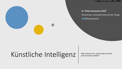Was ist Künstliche Intelligenz und wo kann ich sie finden?