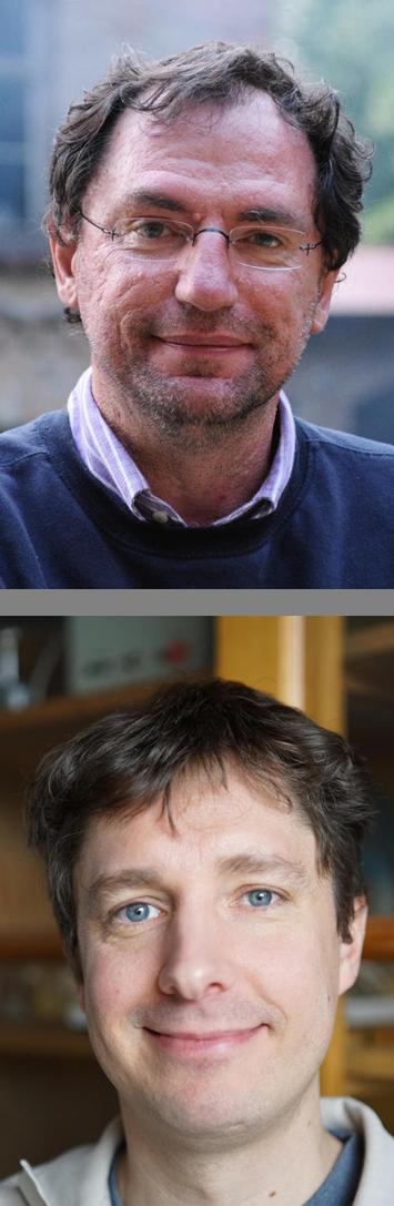 Dr. Jürgen Kirstein - oben im Bild, Dr. Sebastian Haase - unten im Bild