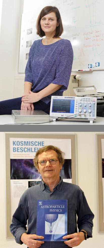 Carolin Schwerdt - oben im Bild, Dr. Michael Walter - unten im Bild