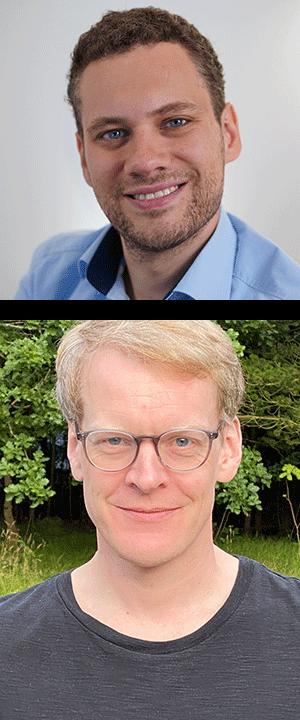Dr. Sebastian Staacks - oben im Bild, Jens Noritzsch - unten im Bild