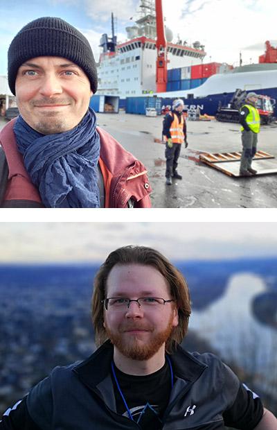 Dr. Falk Ebert - oben im Bild, Christoph Urbanowski - unten im Bild