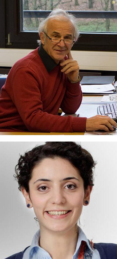 Prof. Dr. Michael Tausch - oben im Bild, Dr. Yasemin Gökkuş - unten im Bild
